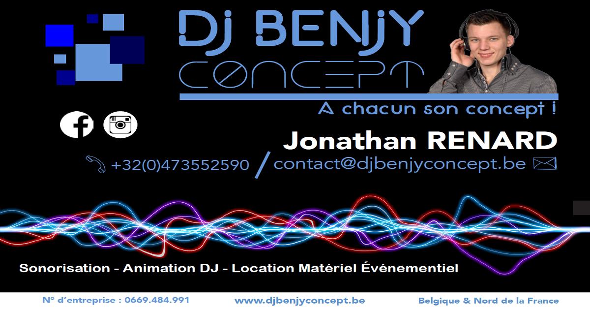DJ Benjy Concept Flyer